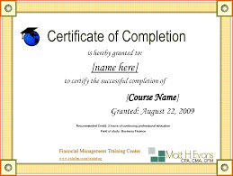 12 printable certificate of completion survey template words