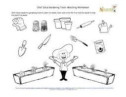 ideas collection gardening for kids worksheets on cover letter