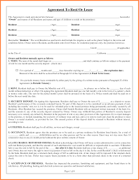 3 simple residential lease agreement template purchase