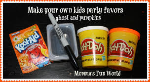 where to buy party favors momma s world pumpkin ghost play doh party favors