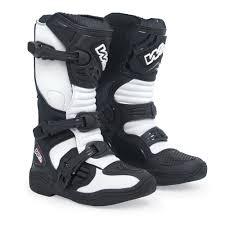 white motocross boots w2 mx kid motocross boots