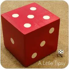 diy indoor games diy under 5 dice a little tipsy