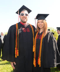 graduation honor cords a record 51 students graduate from honors program