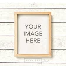 light wood picture frames vertical light wood natural wood frame photo mockup on