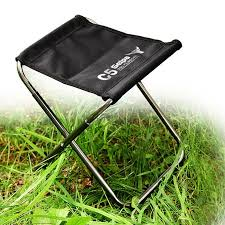7075 aluminum outdoor folding chair alloy chair without back rest