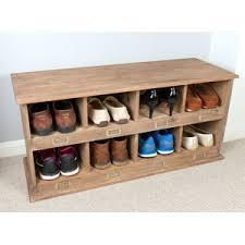 shoe storage bench shoe storage wayfair co uk