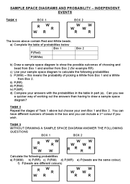 compound events probability worksheet free worksheets library
