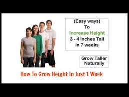 how to grow taller in a week how to grow height in just 1 week how to grow taller be taller 4