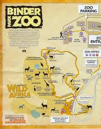 National Zoo Map It U0027s Fun 4 Me Binder Park Zoo Battle Creek Michigan