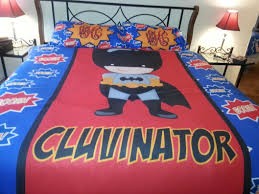 superhero duvet cover set personalized youcustomizeit