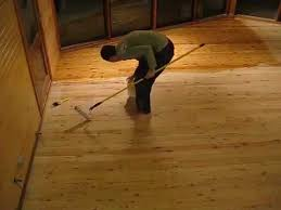 the day 193 painting cypress pine floors