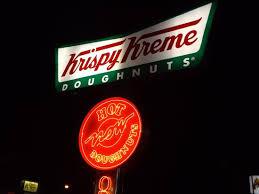 krispy kreme light hours the famous light sign picture of krispy kreme doughnuts