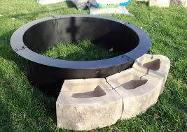 Fire Pit Grill Insert by Steel Fire Pit Outdoor Cooking Grill Home Fireplaces Firepits