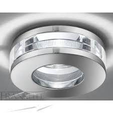 low voltage ceiling lights frx116 mega round chrome and crystal downlight franklite rf266
