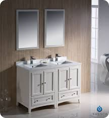 Fresca Oxford FVNAW Traditional Double Sink Bathroom - Bathroom vanities double sink 2