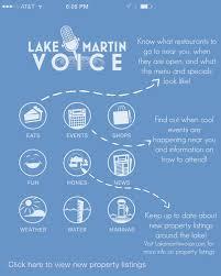 lake martin voice app u2013 lake martin voice u2013 lake martin real