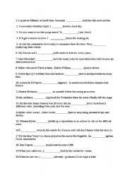 english teaching worksheets present tense