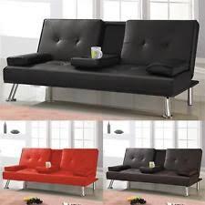 3 Seater Cream Leather Sofa 2 Seater Leather Sofa Sofas U0026 Seating Ebay