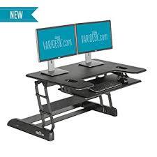 amazon com varidesk height adjustable big and tall standing