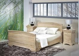chambre style louis philippe lit hugo 160x200 en chêne massif de style louis philippe finition