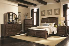 Ashley Porter Panel Bedroom Set by Queen Size Sleigh Bed Frame Alisdair Dresser And Mirror Cherry