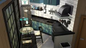 how to make a corner kitchen cabinet sims 4 i build a black and blue kitchen with angled counters thesims