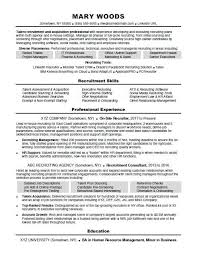 recruiter resume exles recruiter resume sle