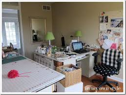 Craft Room Office - home office craft room designs home design
