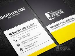 60 best free psd business card templates 2017