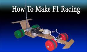 tutorial diy formula 1 racing car remote control how to make f1