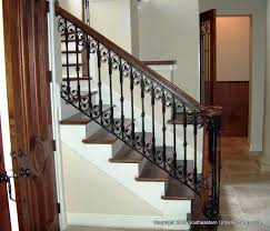 wrought iron stair railing southeastern ornamental iron works