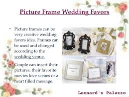 picture frame wedding favors top 10 creative wedding favors ideas