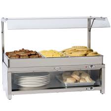 cadco cmlb csg server food warming cabinet combo counter top