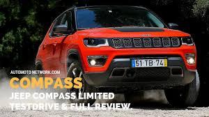 wide stance jeep 2017 jeep compass limited 1 4 170 hp testdrive u0026 review deutsch