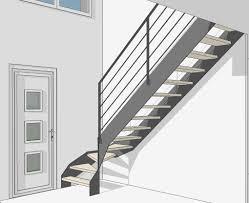 limon d escalier en bois garde corps escalier design et verrière sur mesure en normandie