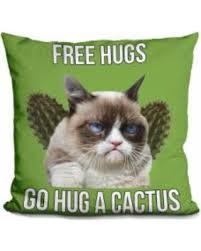 Unamused Cat Meme - check out these hot deals on lilipi grumpy cat meme decorative throw