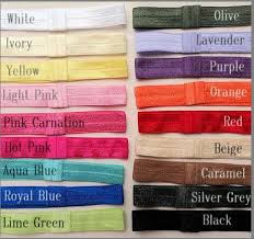 elastic headbands bands stretchy elastic headbands for