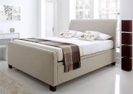 Fabric Ottoman Storage New Kaydian Allendale Upholstered Ottoman Storage Bed Oatmeal