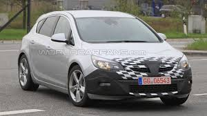 vauxhall usa 2011 opel astra gsi first spy photos