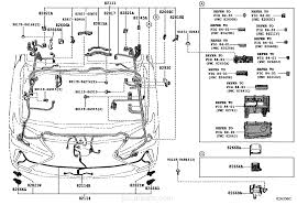 lexus lx 570 jp wiring u0026 clamp lexus part list jp carparts com