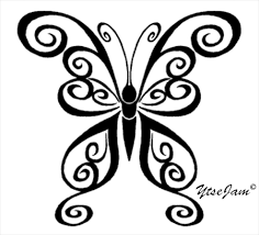 tribal butterfly by ytse80 on deviantart