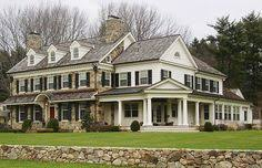 Stone Farmhouse Plans by House Plan 77818 Plantation Plan With 5120 Sq Ft 5 Bedrooms