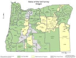 State Of Oregon Map by Soils Nrcs Oregon