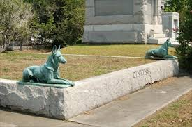 guard dog statue capt dinkins guard dogs new orleans la dog statues on