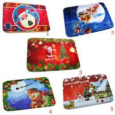 Christmas Bathroom Rugs by Online Buy Wholesale Christmas Bath Rugs From China Christmas Bath