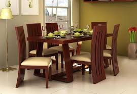 Seater Dining Table Online  Six Seater Dining Table Set India - Dinning table designs