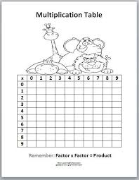 best 25 multiplication table for kids ideas on pinterest math