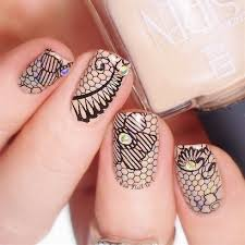 amazon com pueen 2015 nail art stamping plate celebration