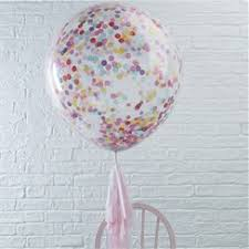 confetti balloons party delights