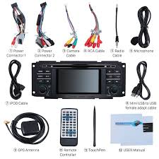 2002 2003 2004 2007 jeep wrangler liberty in dash radio gps sat